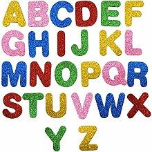 kissral 26 Buchstaben Aufkleber Wand Farbmischung