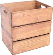Kiste aus Holz Union Rustic