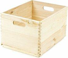 Kiste aus Massivholz Rebrilliant