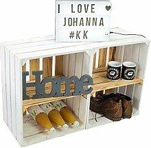 Kistenkolli Altes Land 2er Set Obstkiste Johanna