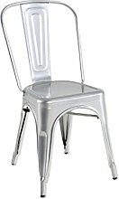 Kit Closet 5020519053 - Stuhl, Metall, silber