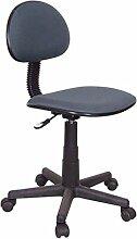 Kit Closet 9000311020 - Einfacher Stuhl, schwarz