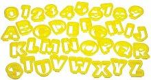 Kitchen Craft Buchstaben und Zahlen Ausstecher