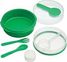 Kitchen Craft CMSALADGRN Salat-Box, Kunststoff,