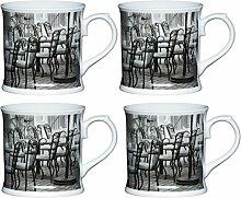 Kitchen Craft Porzellan Cafe Stuhl bierkrugförmig