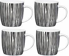 Kitchen Craft Tasse aus feinem Porzellan mit