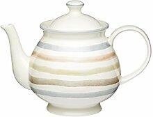Kitchen Craft Teekanne klassisch 1400ml in weiß,
