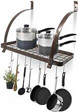 Kitchen Pan Rack Küchenschrank Regalaufbewahrung