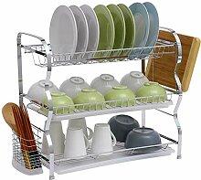 Kitchen rack Geschirr Hackbrett Lager Metallisches