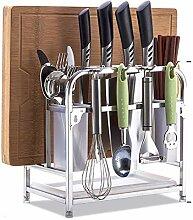 Kitchen rack Hackbrett Messer und Gabel