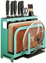 Kitchen rack Messer Hackbrett Lager Topfdeckel