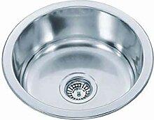 Kitchen Round Basin Mini Sink Kleine Single Slot
