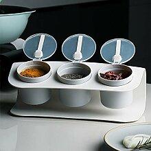 Kitchen Seasoning Box Flip Cover Design mit drei