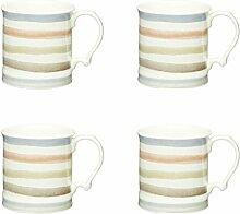KitchenCraft Classic Collection Keramikbecher im