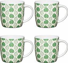 KitchenCraft Grünes Blatt Fassbecher mit