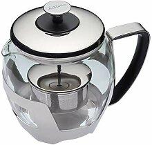 KitchenCraft Le'Xpress Glas-Teekanne für 5
