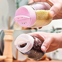 Kitchenware Glas Gewürzflaschen Haushalt Salz