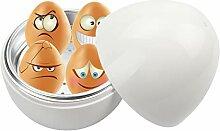 Kitchnexus Eierkocher für Mikrowelle mit