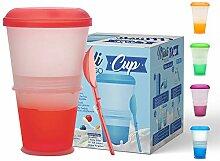 KitchnPro Müsli to Go Becher mit Milch-Kühlfach