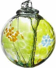kitras Art Glas Dekorative Spirit Ball, 6, Lime