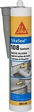 KITT spezielle, Schimmel Silikon für Sanitär–sikaseal 108Sanitär–Hellgrau–300ml