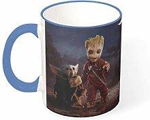 KittyliNO5 Baby Groot und Yoda Porzellan
