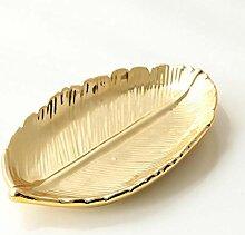 KIU Leaf Ceramic Plate Dish Porzellan Candy