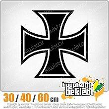 Kiwistar Eisernes Kreuz Iron Cross - in 3 Größen