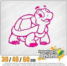 KIWISTAR - Schildkröte Heckscheibenaufkleber Carsticker Decal