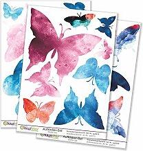 Kiwistar Schmetterlinge Aquarell, 21