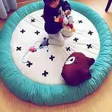 Kjde Teppich Cartoon Runde Dicke Babymatte Tatami