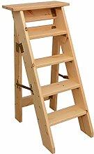 KJZ Holzleiter, einseitige Haushaltsleiter, Küche