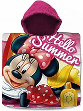 KK Disney Minnie Kinder Badeponcho Kapuze