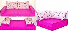 KK H23 rosa-Katze Kindersofa Kindermatratze