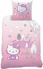 KK Hello Kitty Biber Bettwäsche Flanell 80 x 80
