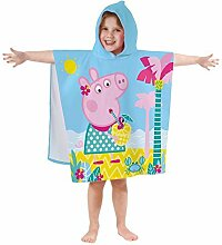 KK Peppa Pig Badeponcho Kapuze Duschtuch Badetuch
