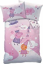 KK Peppa Pig Wutz Baby Bettwäsche-Set 100/135 +