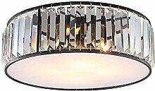 KK Timo Deckenlampe LED Runde Kupferkante Kristall
