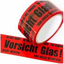Kk Verpackungen - 1 Rolle Vorsicht Glas Klebeband