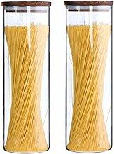 KKC Vorratsdosen Glas Luftdicht, Spaghetti