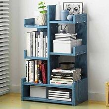 KKCD - Bücherschrank Bücherregal Aus Holz,