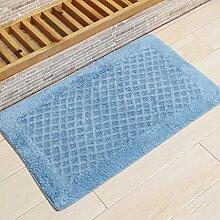 KKCF Absorbent Anti - Skid Wattepad Teppich, Fußmatte, Wohnzimmer, Bad, Bodenmatte Anti-Rutsch ( farbe : D , größe : 40*60cm )