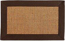 KKCF American Ländlichen Sisal Teppich Für Wohnzimmer Schlafzimmer Couchtisch Teppich Anti-Rutsch ( größe : 1.5*2.0m )