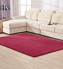 KKCF Anti-Blockier-System Rechteckige Teppich für Wohnzimmer, Kaffee, Tisch, Sofa, Schlafzimmer, Bettvorleger, 0.65-1.4m * 1.6-2.0m Teppiche, Anti-Rutsch ( farbe : D , größe : 1.2*1.6m )