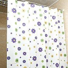 KKCF Duschvorhang Mildew dicken wasserdichtes Badezimmer Duschvorhang Trennvorhänge (11 Größen) Badezimmer ( größe : 2*2.4m )