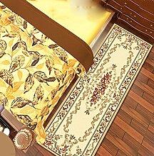 KKCF Europäische Simple Home Rechteckige Teppich-Pad für Schlafzimmer, Nacht, Küche, Flur, Aisle-Matte, Teppich, Multicolor Optional Anti-Rutsch ( farbe : C , größe : 0.8*2.5m )