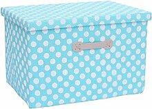 KKCF Farbe Kleidung Aufbewahrungsbox mit Deckel