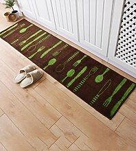 KKCF Imprägniern Sie rutschfeste Hauptteppdeckeauflage, Wohnzimmer, Küche, Schlafzimmerbettseitenmatte Anti-Rutsch ( farbe : A , größe : 45*180cm )