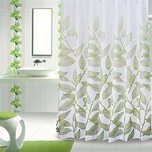 KKCF Polyester Tuch Duschvorhang Wasserdichte Verdickung Mouldproof Bad Trennwand Duschvorhang Duschvorhang (16 Größen) Badezimmer ( größe : 240*200cm )