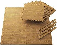 KKCF Thick Anti-Rutsch-Spliced Teppich-Pad, Matte (Satz von 2, jeder Satz von 5) mit Edge Strips Anti-Rutsch ( größe : (60*60cm)*2 )